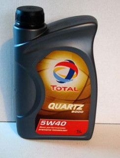 Total Quartz 9000 5W40, 1lt