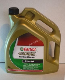 Castrol EDGE Turbo Diesel 5W-40, 5 l