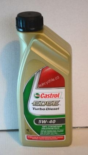 Castrol Edge Turbo Diesel 5W40, 1lt